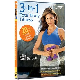 3-in-1 Total Body Fitness with Desi Bartlett DVD