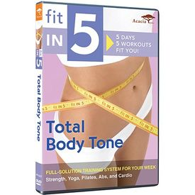 Fit in 5: Total Body Tone DVD