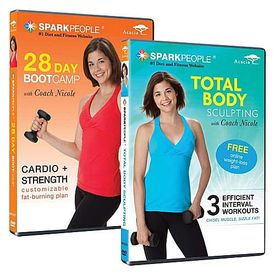 SparkPeople Cardio & Sculpting DVDs