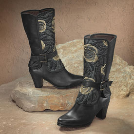 Spring Step Rose Boots