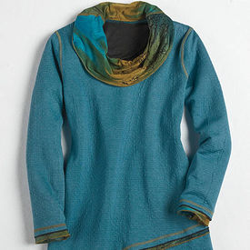 Ashley Cowl-Neck Tunic