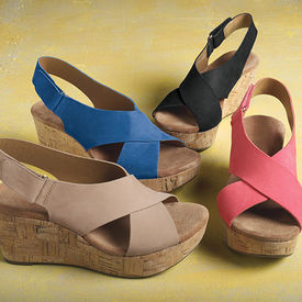 Clarks Shae Wedges