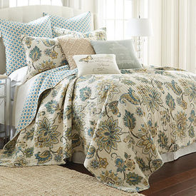Jillian Quilted Bed Dressing