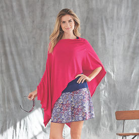 Eden Tank, Poncho, and Skirt